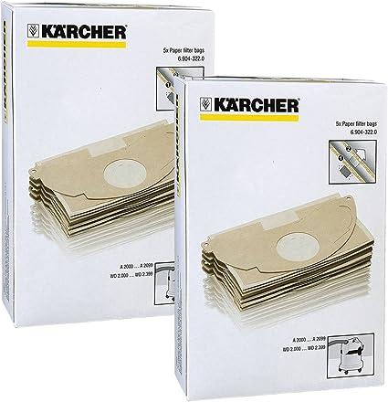 5 SACCHI KARCHER ASPIRAPOLVERE MV2