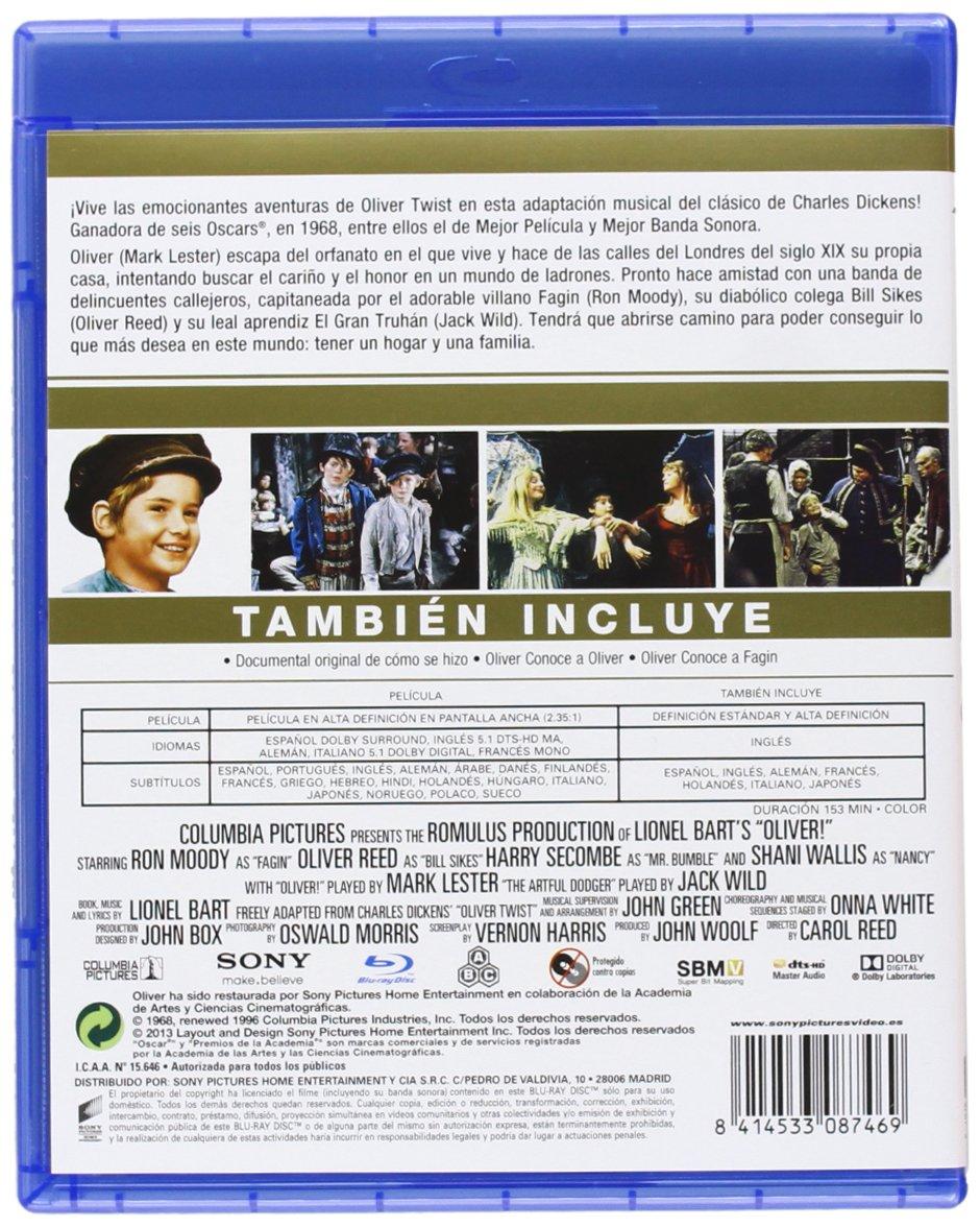 Oliver - Bd [Blu-ray]: Amazon.es: Ron Moody, Shani Wallis ...