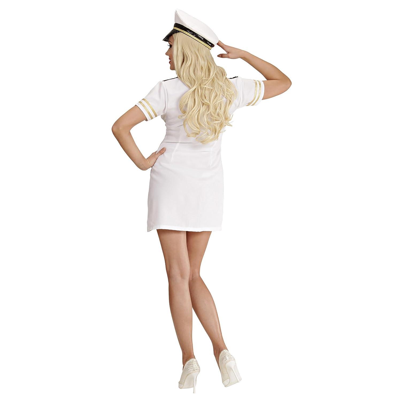 WIDMANN Unbekannt - Disfraz de capitán de barco para mujer ...