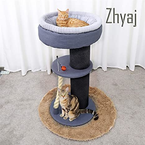Zhyaj Rascador para Gatos Alta Estabilidad Puede Ser Utilizado ...