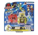 TURNING MECARD Jet Yellow W Transforming Robot