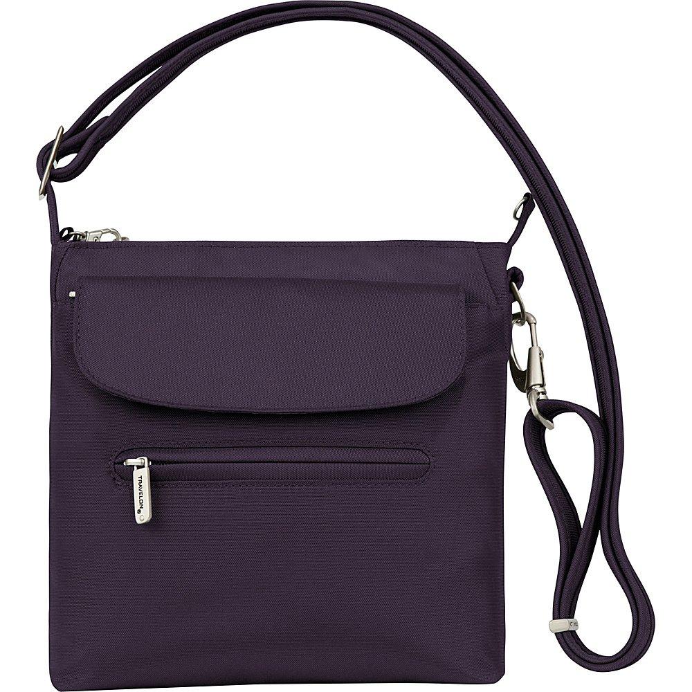 Travelon Anti-Theft Classic Mini Shoulder Bag, Purple