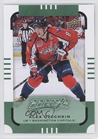 5bbaf42fa Alex Ovechkin Alex Ovechkin (Hockey Card) 2015-16 Upper Deck MVP Green   130  Amazon.ca  Sports   Outdoors