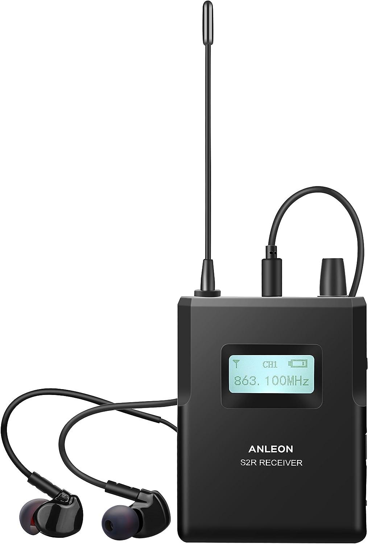 Anleon S2 Sistema intercomunicador inal/ámbrico profesional intraaural 1 Receiver