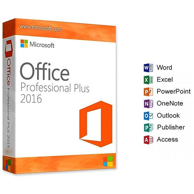 Microsoft Office Professional Plus 2016 - Français - complète / 1 pc / 1 clé / livré par e-mail / uniquement pour Windows