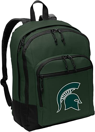 Broad Bay Michigan State University Soccer Backpack or Michigan State Volleyball Bag
