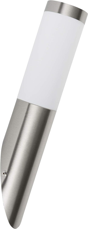 Smartwares RX1010 -Außenleuchte – Abgewinkelt – Edelstahl – E27-Sockel - IP44: Amazon.de: Beleuchtung -