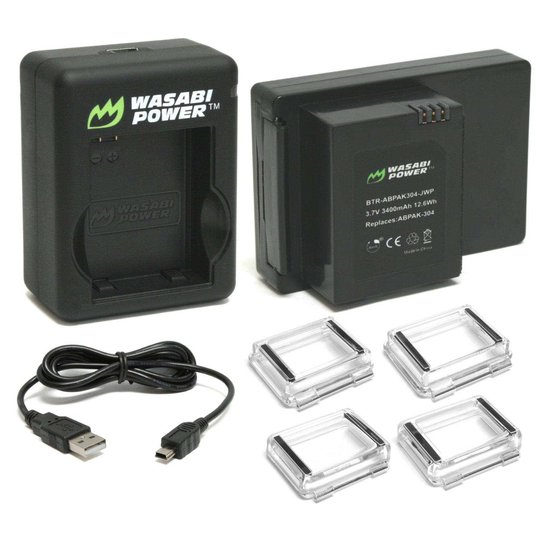 Wasabi Power Extended Battery for GoPro HERO3, HERO3+ BTR-ABPAK304-JWP-001