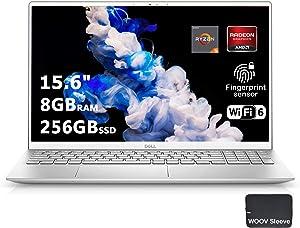 "Dell Inspiron 15 5000 5505 Premium Business Laptop, 15.6"" FHD, AMD 6-Core Ryzen 5 4500U(>i7-10710U),8GB DDR4 RAM, 256GB PCIE SSD, Backlit Fingerprint Wifi6 Bundle with Woov Sleeve – Windows 10 Home"" /></a></div> <div class="