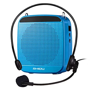 SHIDU sd-512 amplificador de voz (18 W) with 1200 mAh pila AU