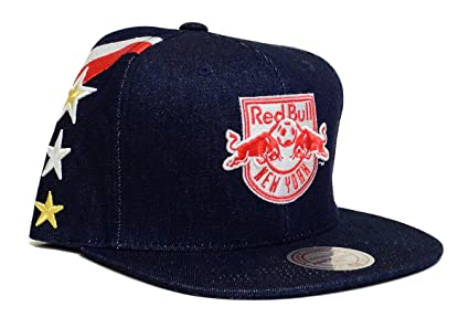 Image Unavailable. Image not available for. Color  Mitchell   Ness New York  Red Bulls ... 0eb4d54db3