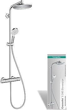 Hansgrohe 27267000 Crometta S 240 columna de ducha, 2 tipos de ...