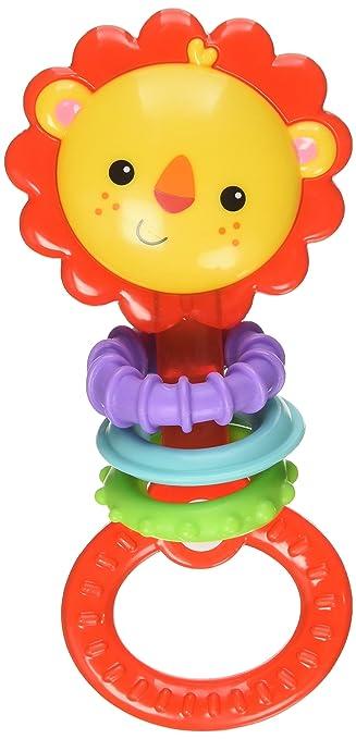 17 opinioni per Fisher Price Infant CGR32- Dentaruolo Leoncino, Multicolore