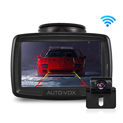 W2 NO Interference Digital Wireless Backup Camera System Kit With Built In Transmitter IP68