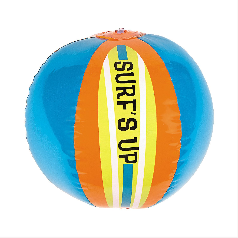 Inflatable Surfs Up Beach Balls