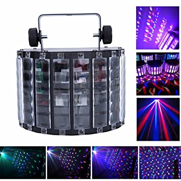Lightess LED Stage Light DJ Derby Lights 9 Colors Wide Beam Effect L& With Remote Control  sc 1 st  Amazon.com & Amazon.com: Lightess LED Stage Light DJ Derby Lights 9 Colors Wide ...