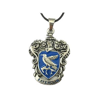 Harry Potter Ravenclaw casa diseño del escudo collar w/caja ...