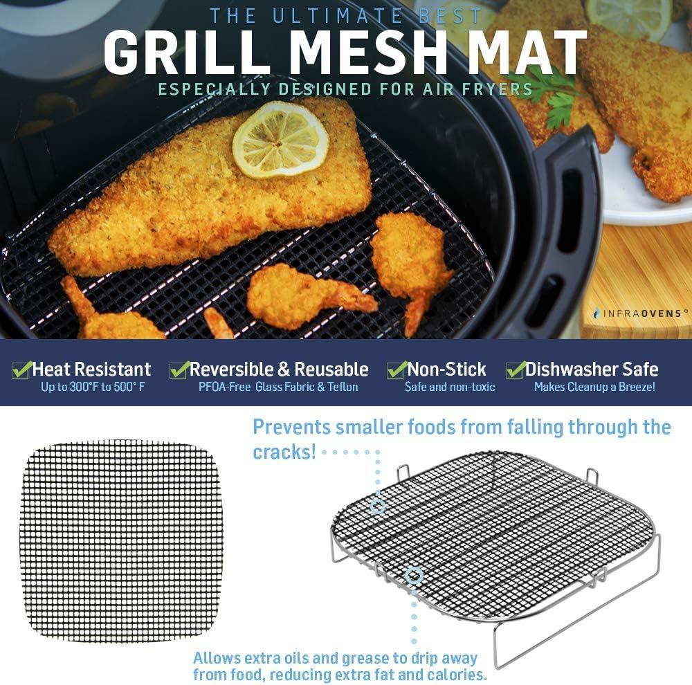 Caynel 12.5 quarts Dash Chef Cookbook Zokop 16.91 QT Air Fryer Toaster Oven Accessories Compatible With Aaobosi 21 QT More XXL Cheat Sheet Magnets Paula Deen 9.5 QT Costway 19 QT Costway