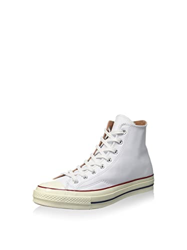 Converse Chuck Taylor 1970s Leather Hi Top Sneakers White (12 M US) b3f4526d94