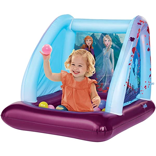 Amazon.com: Frozen 2 Ball Pit Playland, 1 Inflatable & 20 ...