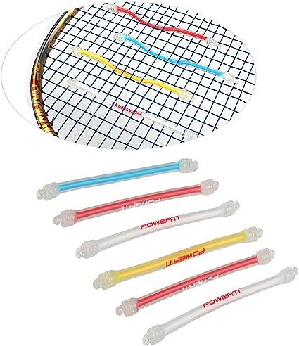 Silicone Long Shock Trap Tennis Racquet Shock Absorber Dampener Vibration L5J5