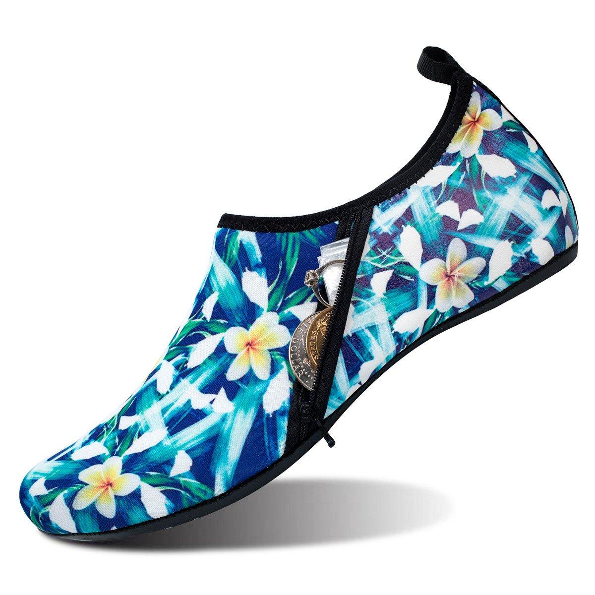 28f9e5449b1d JIASUQI Womens and Mens Summer Outdoor Water Shoes Aqua Socks for Beach Swim  Surf Yoga Exercise