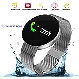 Reloj Inteligente Hombre Smartwatch Reloj Mujer Deportivo Pulsera de Actividad Inteligente Ip68,Fitness Tracker Bluetooth