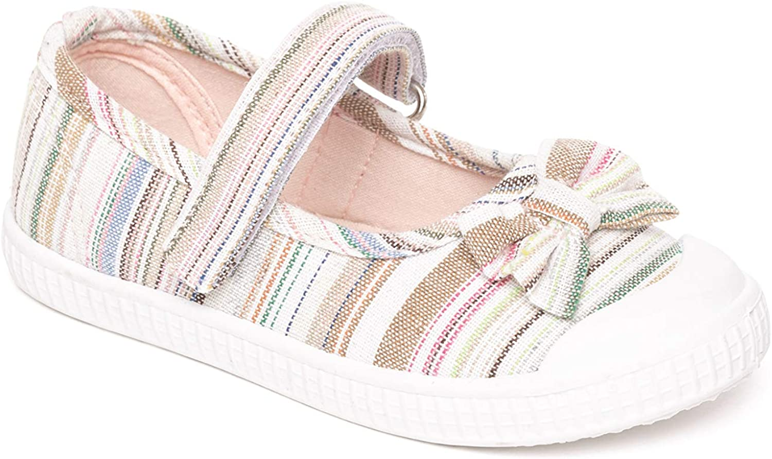 Girls Canvas Pumps Infant Trainers Mary