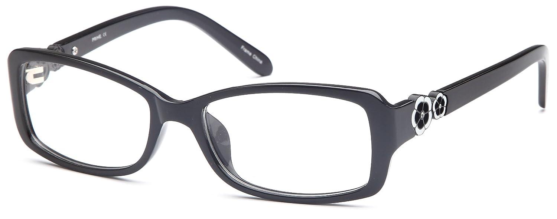 00893f1cdf17 Amazon.com  DALIX Womens Prescription Eyeglasses Frames 53-18-137-33 RXable  in Black  Clothing