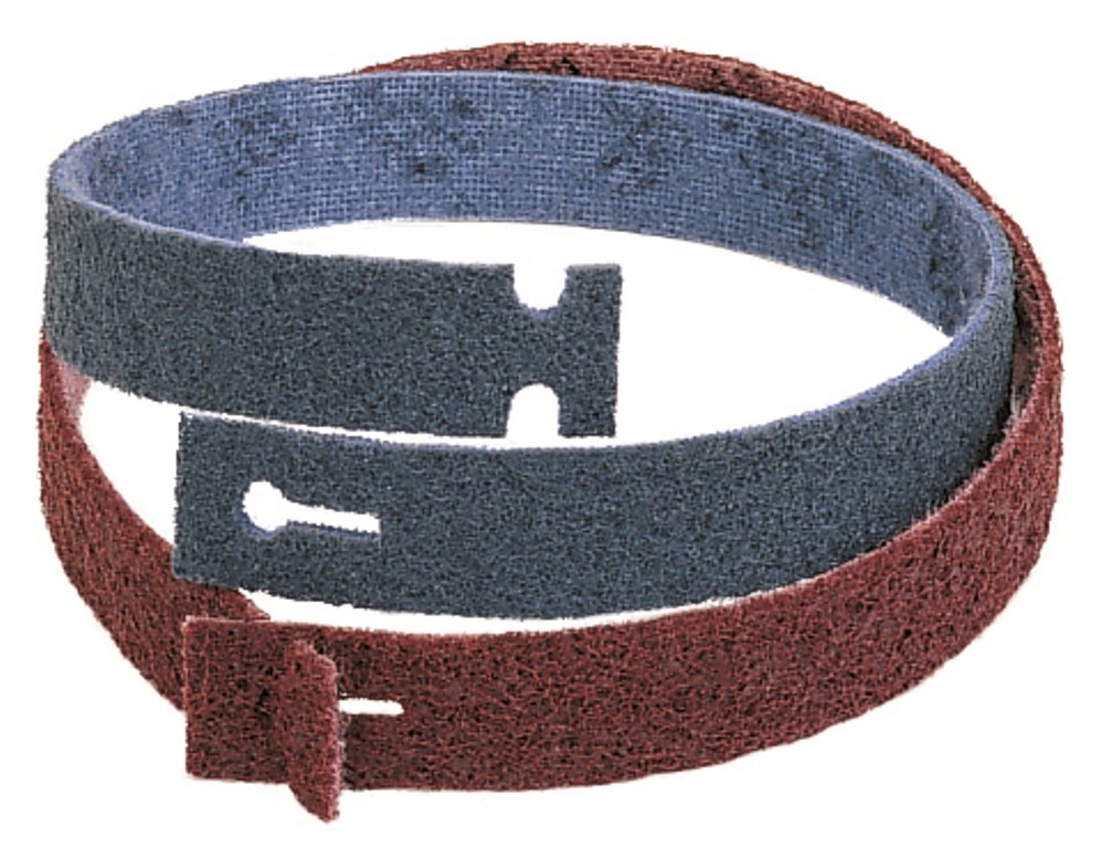 Walter Blendex Linear Finishing T-Lock Abrasive Belts for Pipes, Rails and Curved Surfaces (Pack of 3)