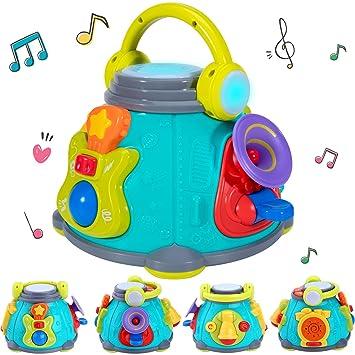Amazon.com: iPlay, iLearn cubo de actividad musical, centro ...