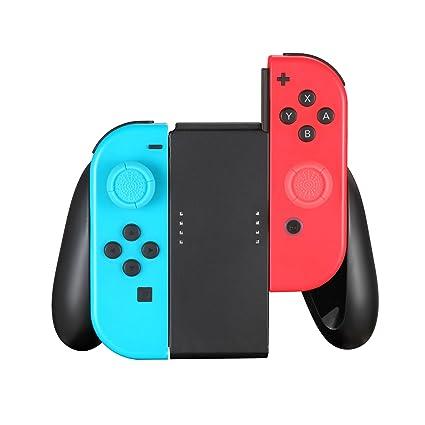 TPFOON Soporte Empuñadura Confort Mando Joy-con para Nintendo Switch