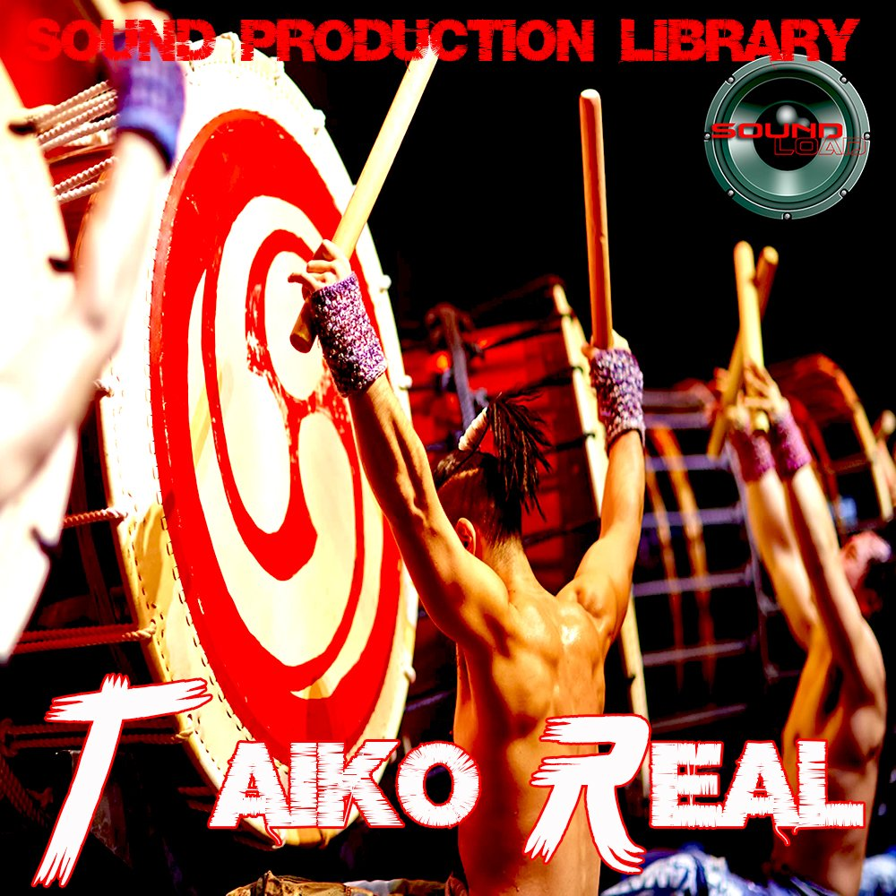 TAIKO Drums Real - Unique Original 24bit Multi-Layer Samples/Loops Library on 2 DVD or for download by SoundLoad