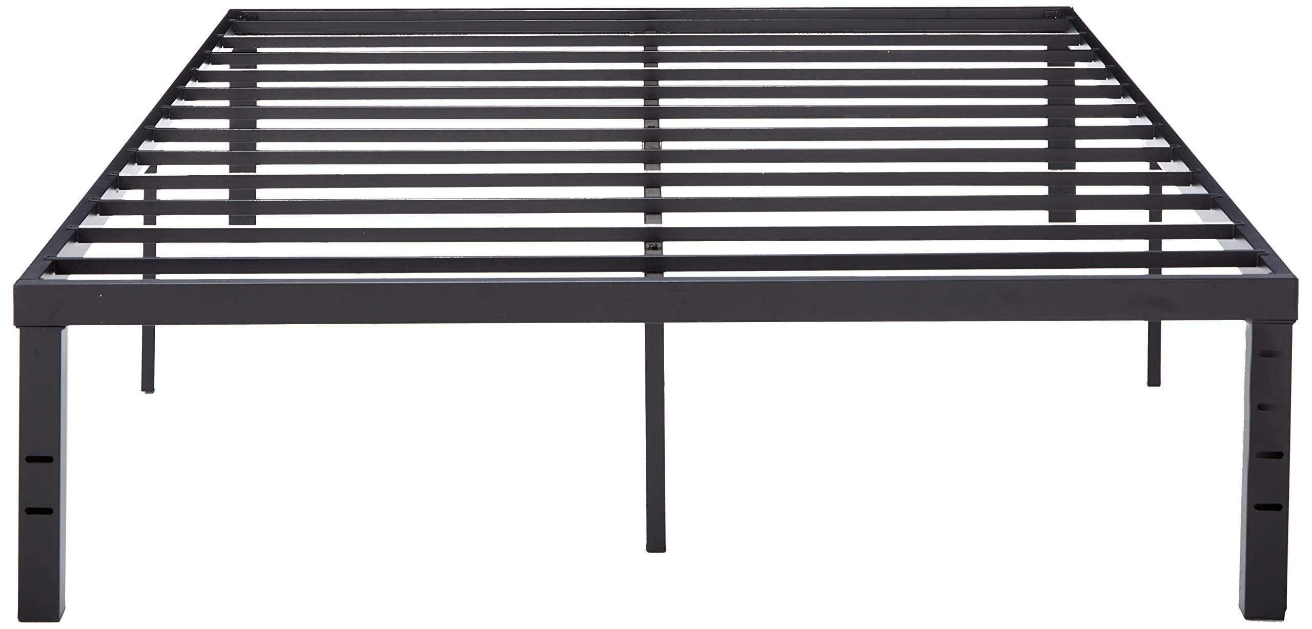 Zinus Luis Quick Lock 14 Inch Metal Platform Bed Frame / Mattress Foundation / No Box Spring Needed, Twin