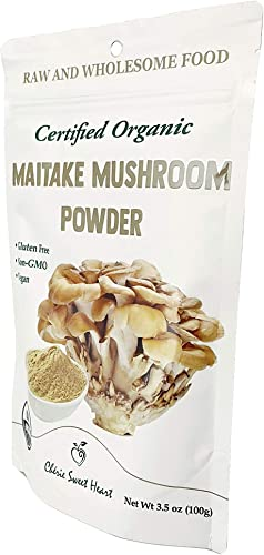 Cherie Sweet Heart Organic Maitake Mushroom Powder 3.5 Ounces