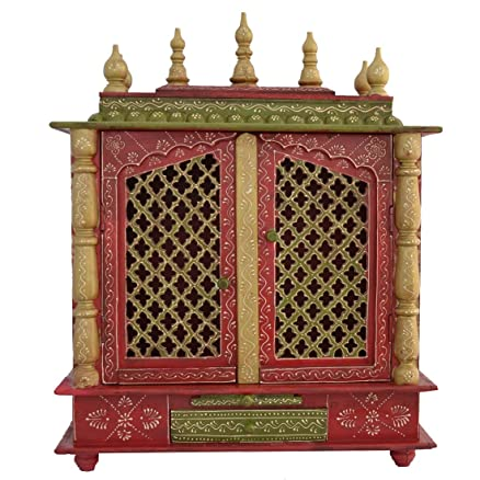 Buy Home Temple/ Wooden Temple/ Pooja Mandir/ Mandap/ Temple for ...