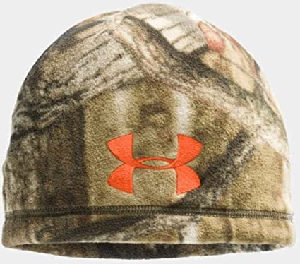 5b16095b555 Image Unavailable. Image not available for. Color  Under Armour 1241970 Men s  Camo Outdoor Fleece Beanie ...