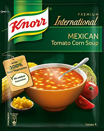 Knorr Mexican Tomato Corn Soup 52 Gram - 1.83 Ounce