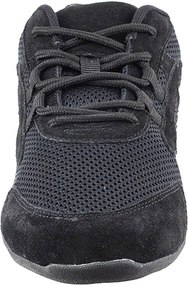 Bundle- 4 items - Very Fine Mens Womens Unisex Practice Dance Sneaker Split Sole VFSN012 Pouch Bag Sachet, Low Profile:Black 11 M US by Very Fine Dance Shoes (Image #3)