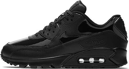 Nike WMNS Air Max 90 Lea Chaussures Sportives, Femme