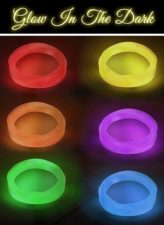 20 Colors Stylo 3D Filament Refills PLA 1.75 Filament 10 Meter - PLA 3D Pen Printing Filament Refills 6 Glow in The Dark