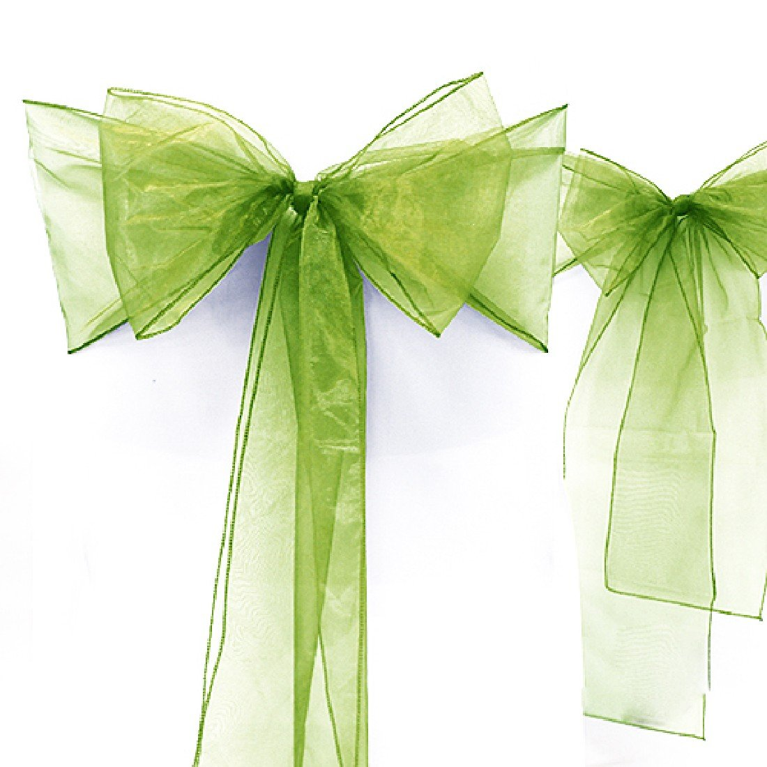 * * * 275/cm organza chaise rubans n/œuds rubans de housse de chaise pour mariage banquet f/ête d/écoration 18/*