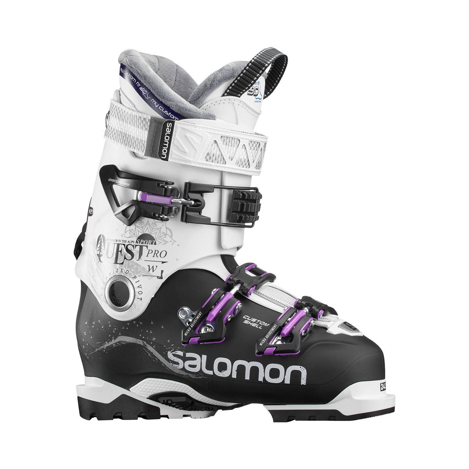 SALOMON Damen Quest Pro Cs 90 Skistiefel