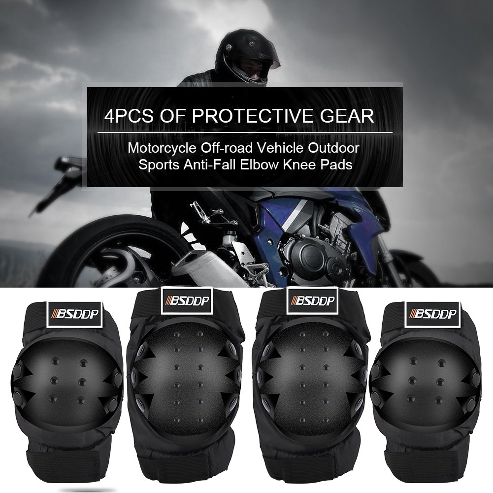 Prot/ège-genouill/ère coudi/ère de moto