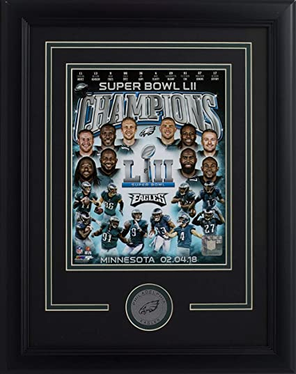 6660090c4 Philadelphia Eagles Framed 8x10 Super Bowl 52 Team Collage Photo at ...
