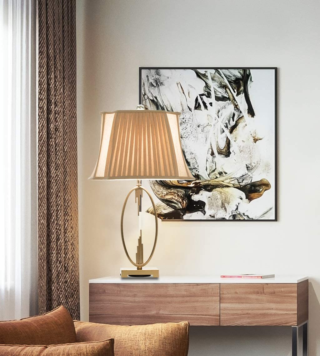 GPZ-table lamp Table Lamp Post-Modern Light Luxury Minimalist Bedroom Decorative Bedside Lamp Energy Level [A++]