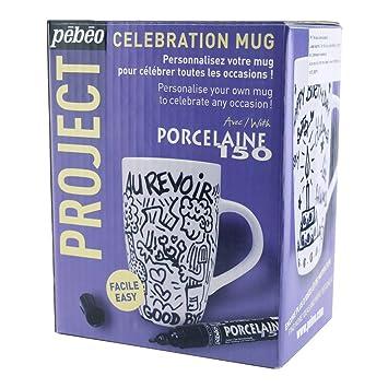 Amazoncom Pebeo Celebration Mug Kit Home Kitchen