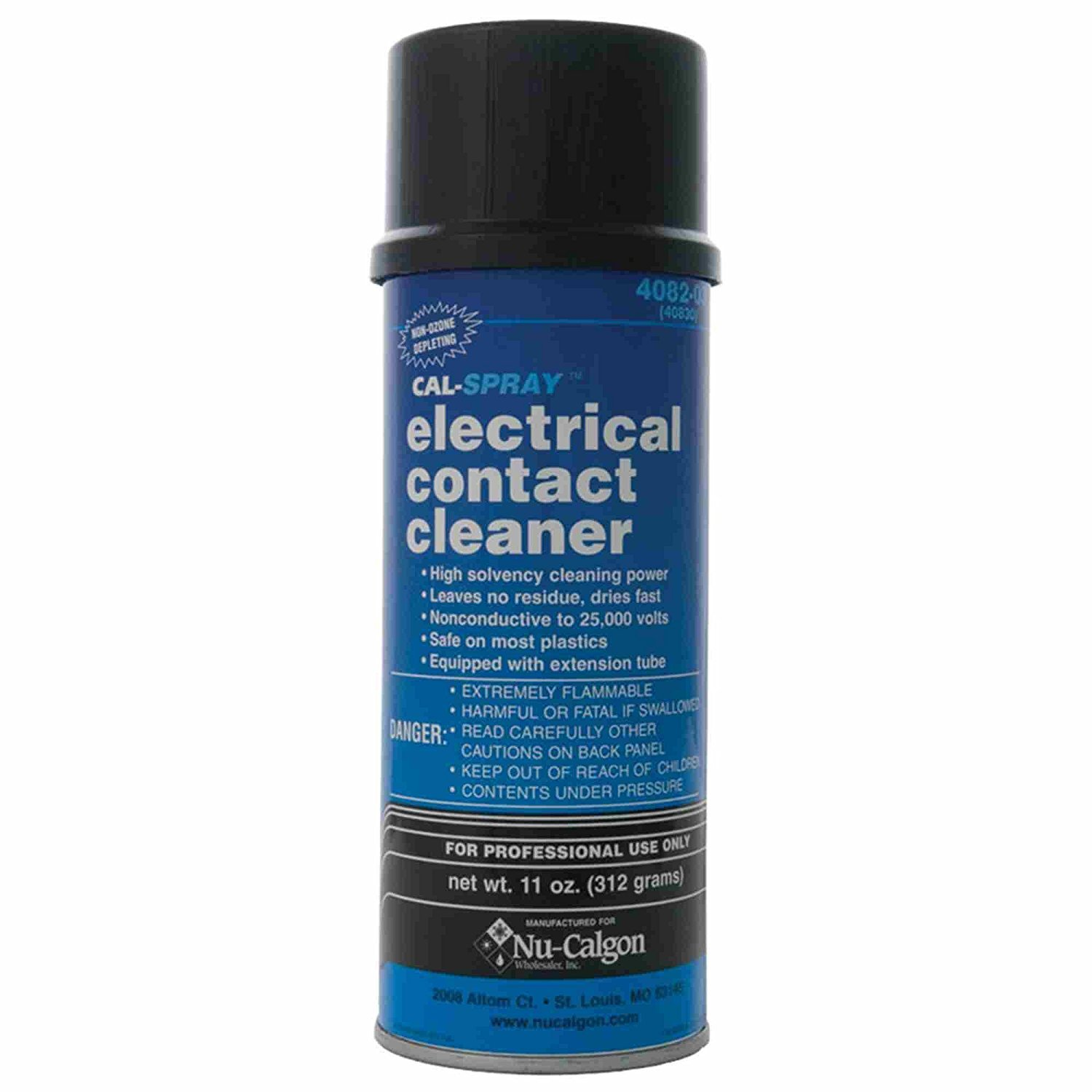 Nu-Calgon 4082-03 Electrical Contact Cleaner, 11 oz. Can