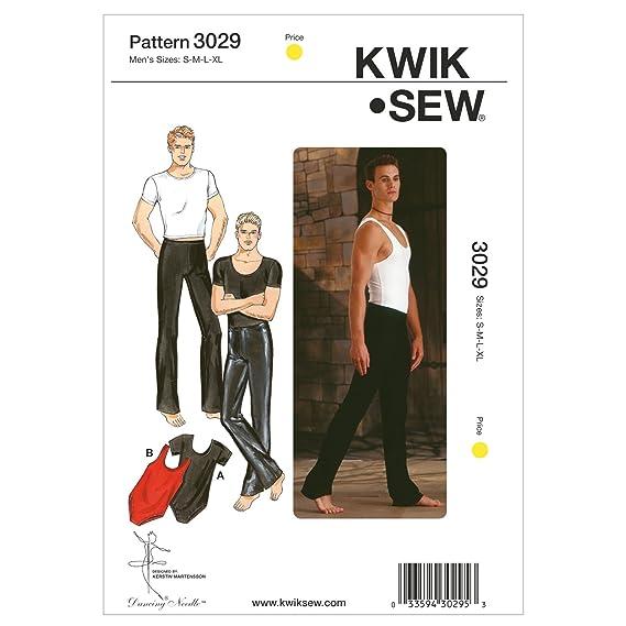 Kwik Sew 3029 - Patrones de costura para confeccionar ropa deportiva ...