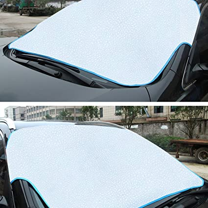 Car Front Glass Windshield Windscreen Sun Shade Cover Frost Snow Dust Protector